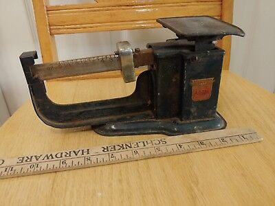 VINTAGE TRINER AIR MAIL ACCURACY POSTAL SCALE antique chicago ill