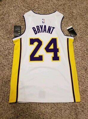 0a0e75ccc92 Nike Los Angeles Lakers Kobe Bryant 24 Icon Authentic Jersey SZ M 44  AQ2106-100
