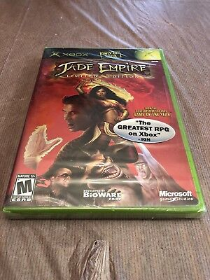 Jade Empire: Limited Edition Xbox New Sealed with Rare Promo Sticker
