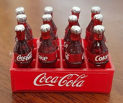 Little Shop Mini Collectables - Coke in a crate with 12 bottles