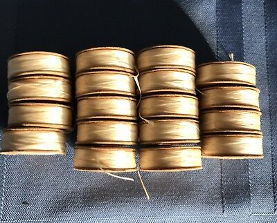 VINTAGE BELDING CORTICELLI BOBBINS THREAD LOT of 18