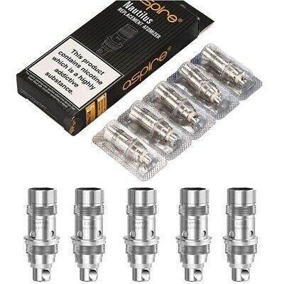 X1.8 1.6 0.7Ohm Coils Replacement Coil Heads For Aspire Nautilus