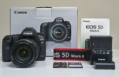 Canon EOS 5D Mark II 21.1MP Full Frame Camera with 24-105 1:4 L IS USM Zoom Lens