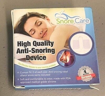 The Original Nose Vents To Ease Breathing And Snoring By - SnoreCare