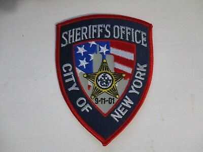 New York Police Department / Sheriff's Office City Of New York 9-11-01