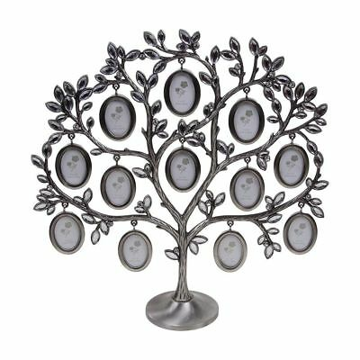 Vintage Decorative Metal Family Tree Photo Picture Frame Metal Wall Art Simple