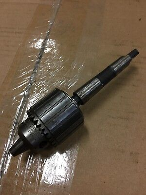 Jacobs Morse Taper 1 MT Drill Chuck Metal Lathe Tool Craftsman Atlas Sherline