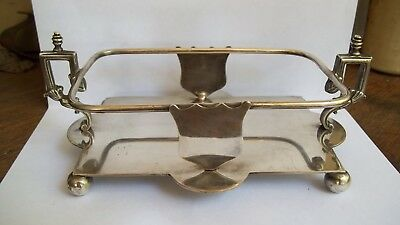 Antique Walker & Hall Silver Plate Condiment Stand