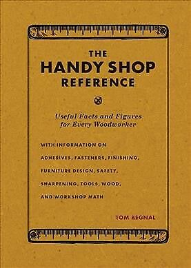 Handy Shop Reference : Useful Facts and Figures for Every Woodworker, Paperba...