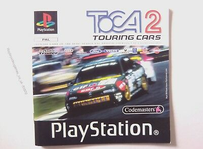 51970 Instruction Booklet - TOCA Touring Cars 2 - Sony Playstation 1 (1998) SLES