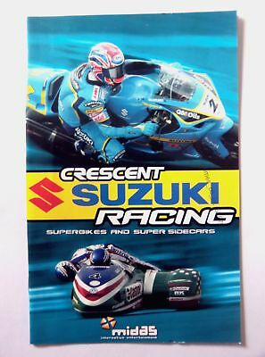 51976 Instruction Booklet - Crescent Suzuki Racing - Sony Playstation 2 (2004) S