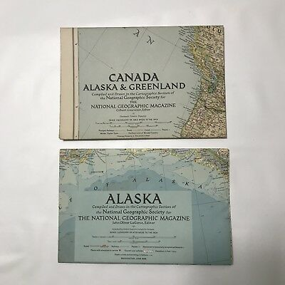 Lot 15+- Vintage National Geographic World Maps 1950s USA Europe Africa Asia