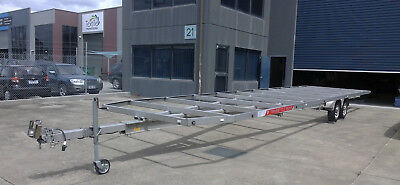 Trailer: Extra Long (11.95m), Flat Bed in Aluminium - Melbourne **Inspect Now**