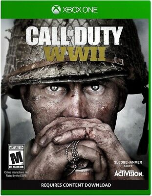 Call of Duty: WWII Microsoft XBox One XBOX 1 COD World War 2 BRAND NEW SEALED