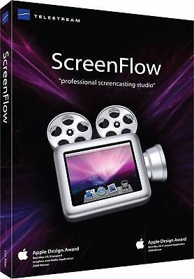 ScreenFlow 8.2.2 for Mac | Newest version! | FreeShipping! | Instant Download!