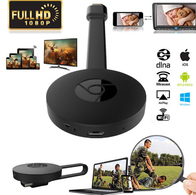 Per Google Chromecast 2 Digital HDMI Media Video Streamer WiFi 1080P TV Dongle