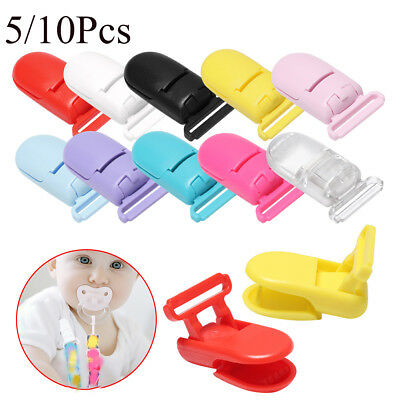 Toy Craft Nipple Clasps Dummy Holder Pacifier Clip Baby Teethers Soother Chain