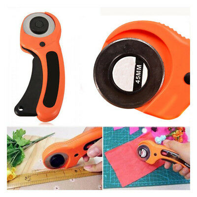 Craft Patchwork Leather Rotary Cutter Fabric Knife Circular Cutting Blade