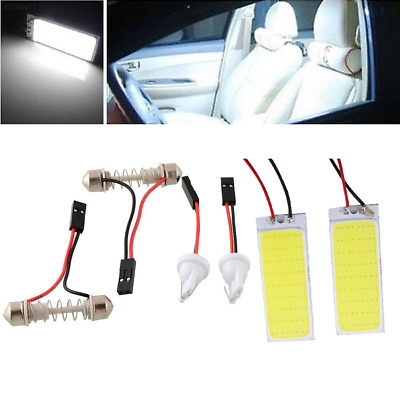 2391 2x HID 36 COB LED Durable Panel Light For Car Auto Interior Dome White Lamp