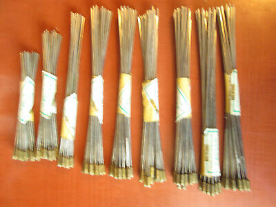 Large Lot of Brass Threaded Clock Chime Rods  – 5 SIZES (313I)