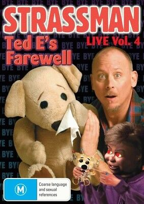 Strassman: Live Vol. 4 - Ted E's Farewell = NEW DVD R4