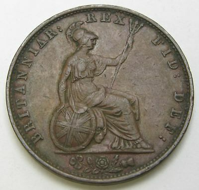 GREAT BRITAIN 1/2 Penny 1831 - Copper - William IV. - VF - 3066