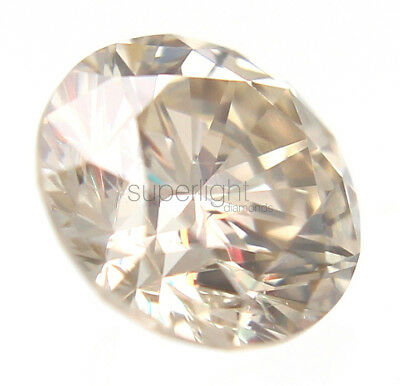 0.17 Carat Fancy Brown Color SI1 Round Brilliant Natural Loose Diamond 3.51mm