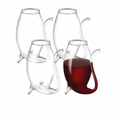 NEW Avanti Glass Port Sippers Set of 4