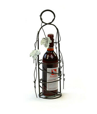 Antique Wire Metal Bottle Holder Country Living Decorating Flowers
