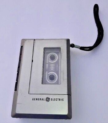 General Electric Personal Cassette Player Recorder 3-5313A TESTED