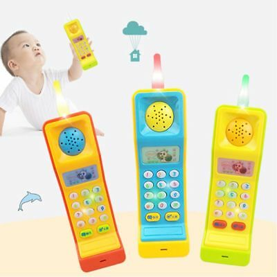 Kids Baby Music Songs Sound Toys Cartoon Buttons Handphone Educational Toy
