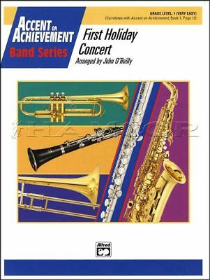 Accent on Achievement First Holiday Concert Grade 1 Score Parts Sheet Music