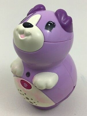 Tag Reader Violet Junior Talking Purple Dog #21202 Replacement Leap Frog 2008