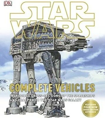 Star Wars Complete Vehicles Book Xmas Gift NEW