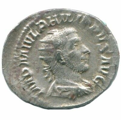 "Philip I ""the Arab"" AR Antoninianus Rome  6th Officina VICTORIA AVG ANC13169.35"