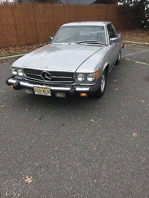 1981 Mercedes-Benz 300-Series 380SLC 1981 Mercedes Benz 380SLC