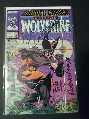 Marvel Comics Presents Wolverine #1 Signed 4X