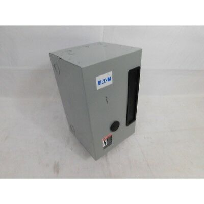 Eaton ECL03C1H3A Starter Enclosure, 3P, 30A, 277V NNB