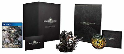UsedGame PS4 MONSTER HUNTER: WORLD COLLECTOR'S EDITION Japan Import