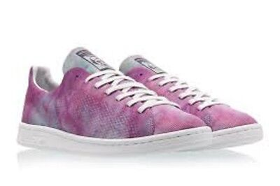 promo code 13db4 b1717 ADIDAS X PHARRELL Williams Men Hu Holi Stan Smith MC purple chalk coral Sz  12.5
