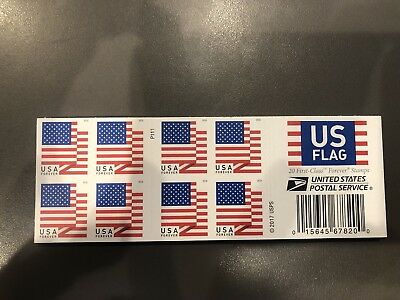 US Flag First Class Forever Stamps (400 Stamps)  20 Sheets Of 20