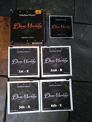 Dean Markley Signature Series NickelSteel Electric LT 9-42 Guitar Strings (4)