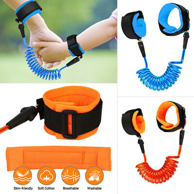 Kid Anti-Loss Safety Strap Wrist Link Hand Harness Leash band for Toddlers Child