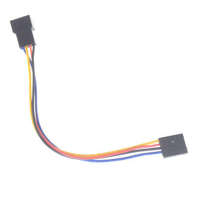 BD_5 pin to 4 pin Fan Connector Adapter Convertion Line Extension Cable For Dell
