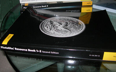 Photodisc Resource Book 1-2 Collage Art and Comping CD Vol 1-24; 400 pg; Apr 99