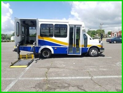 2012 Chevrolet Express DIESEL VAN WHEELCHAIR HANDICAP NON-CDL SHUTTLE BUS 2012 DIESEL Used Turbo 6.6L V8 32V