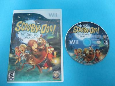 Scooby-Doo! and the Spooky Swamp - NO MANUAL (Nintendo Wii, 2010) MINT DISC!