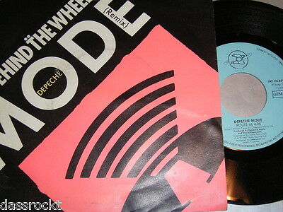 """7"""" - Depeche Mode / Behind the Wheel & Route 66 - Logo 2 Saturn 1987 # 0239"""