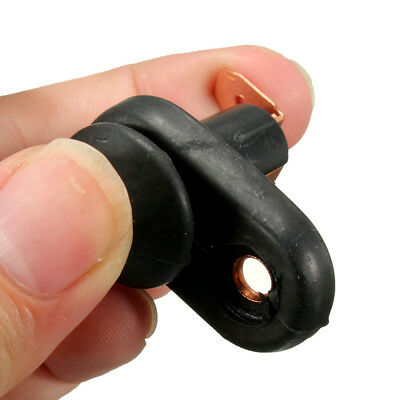 1x Uinversal Black Door Light Switch Button Durable Control Courtesy Lamp Useful