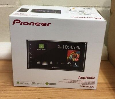 Pioneer SPH-DA120 Double Din Apple CarPlay Bluetooth Android iPhone AppRadio